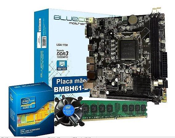 Kit Upgrade Core i3 LGA 1155 + Placa Mãe H61 1155