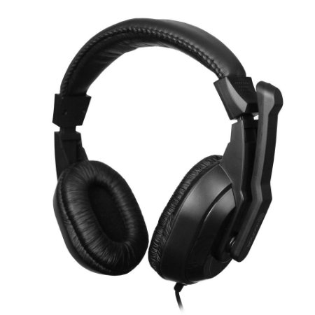 Headset Gamer Hoopson, P3/P2, USB, Preto, GA-5