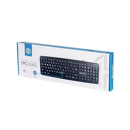 TPC – 058G – Teclado Standard Home Office