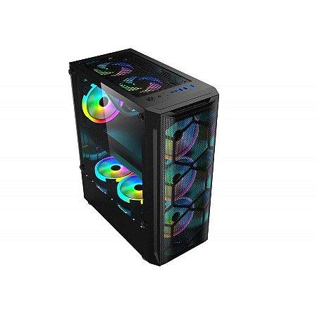 Computador Gamer Ryzen 5 3400G, 16GB DDR4, SSD 120GB, HD 1TB, Fonte 450W