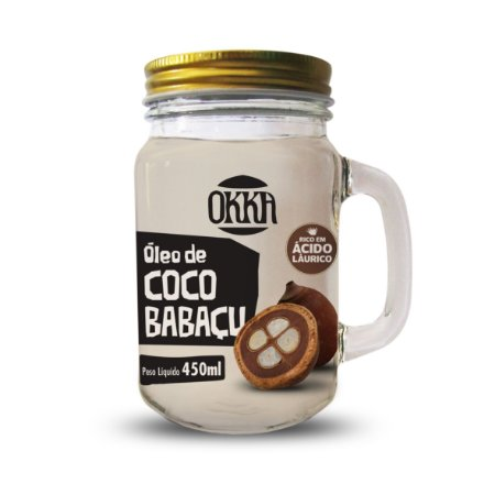 Óleo de Coco Babaçu 450 ml - 1 UNIDADE