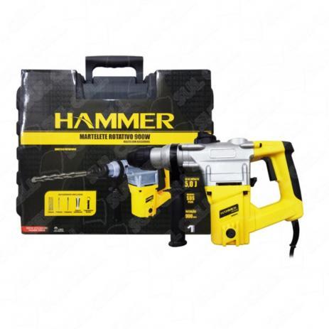 Martelete Perfurador Rompedor 900w 5j Sds Plus Hammer 127V