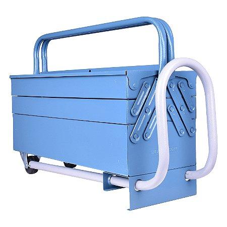 Caixa de ferramentas 5 gavetas com carrinho 50cm Marcon