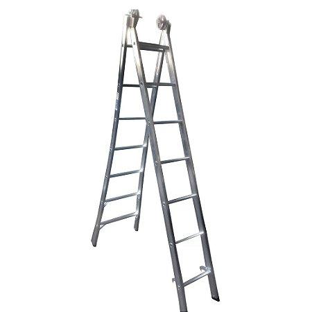 Escada extensivel 7 degras 2m X 22m/3mX90m marca Real