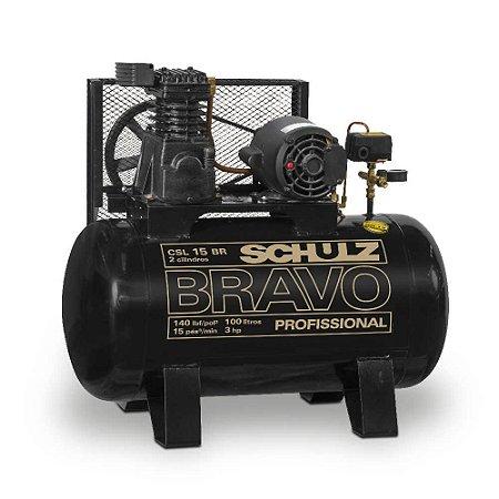 Compressor bravo CSL 15BR/100L Schulz
