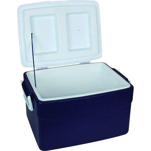 Caixa térmica 55 litros azul mor azul