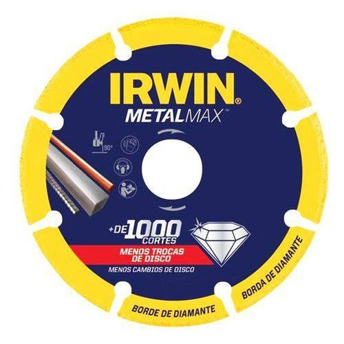 Disco De Corte 7 Pol (180 Mm) Metalmax Irwin