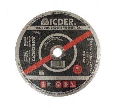 Disco De Corte 4.1/2 Pol A36qb32 Icder