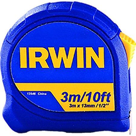 Trena Irwin 8m Standard Com Fita De Aço Botão De Trava