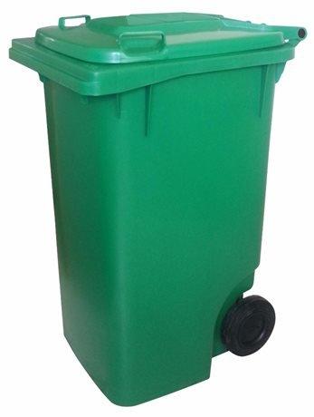 Coletor de lixo 100L c/ pedal e Rodas