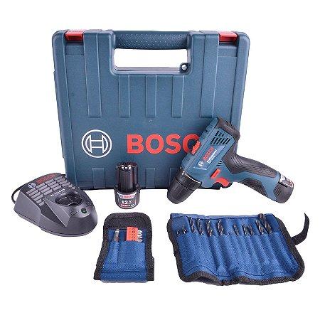 Furadeira Parafusadeira Bosch Gsr 120-li 2 Baterias