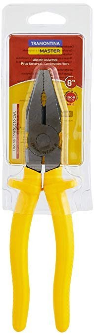 Tramontina Alicate Universal 8'', Amarelo