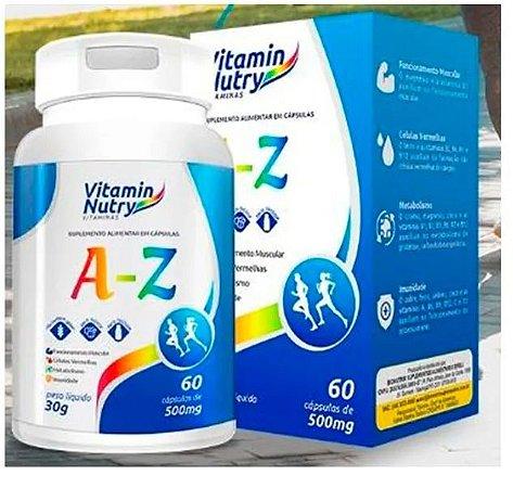 A-Z Multivitamínico 500MG (60 CAPS) Vitamin Nutry BIONUTRIR
