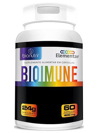 Bioimune Vitamina D + C + Zinco Com Fibras 60Cáps