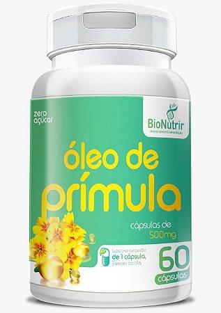 Óleo De Primula 60 Cápsulas 500mg- Bionutrir