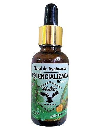 Floral Ayahuasca Potencializada Microdose - 50ml - Mallku