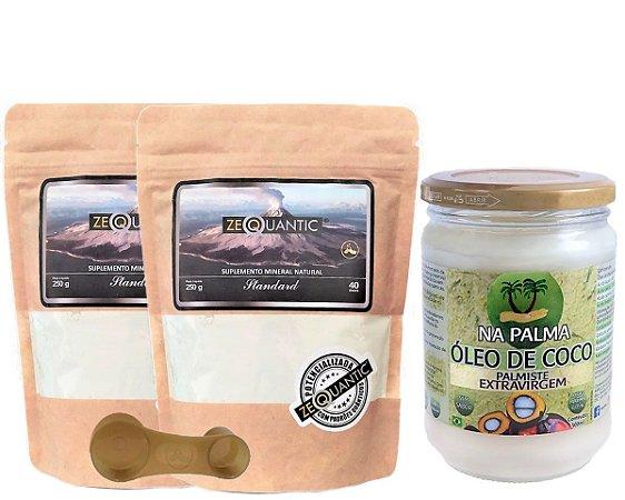 Kit Standard 2x250g +  500ml Oléo de coco de Palma extravirgem 100% natural