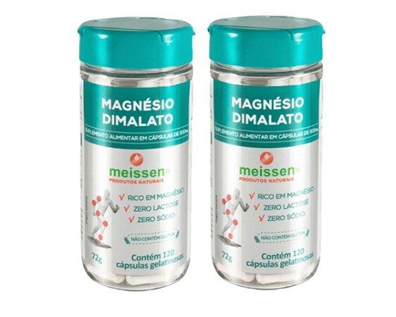Magnésio Dimalato 500mg  240 Cápsulas ( 2 UNIDADES )