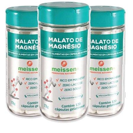 Magnésio Dimalato 500mg  360 Cápsulas ( 3 UNIDADES )