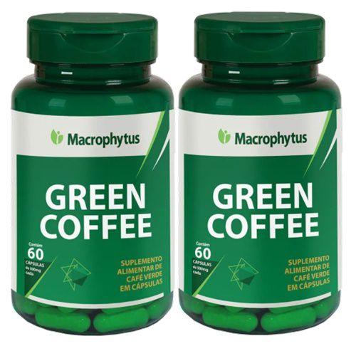 Kit Green Coffee (café Verde) 500mg 60 Cápsulas 2 Unidade