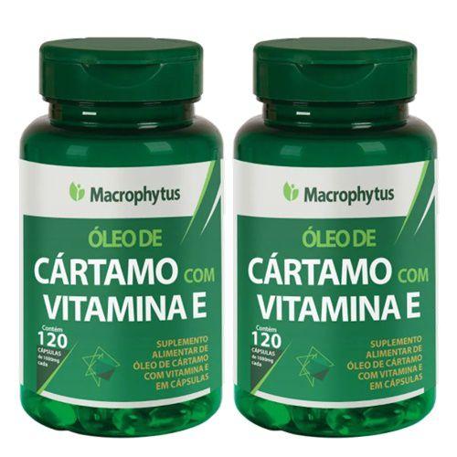 Kit Cártamo C/Vitamina E 1000mg  60 Cápsulas 2 Unidades