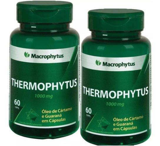 Kit Thermophytus (cart.+guar)1000mg 2x 60 Cáps Macrophytus