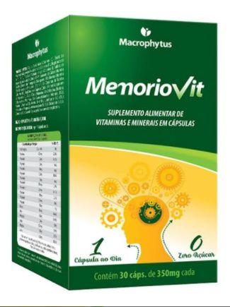 Memoriovit - Polivitaminico  30 Cápsulas - Macrophytus