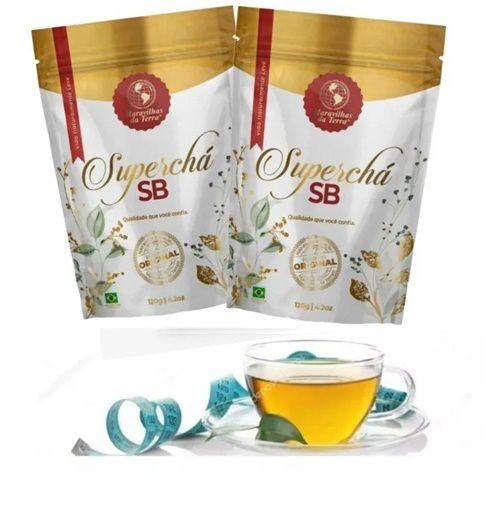 2 Super Chá Sb Original - Maravilhas da Terra