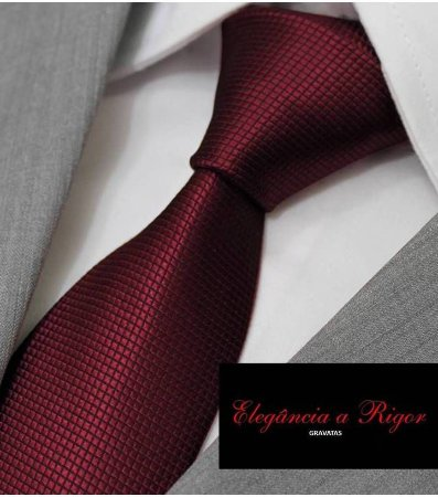 gravata vinho