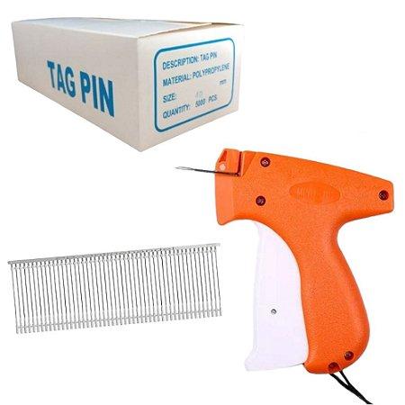 Kit Pistola Aplicador Etiquetadora Preço + 5000 Tag 40mm