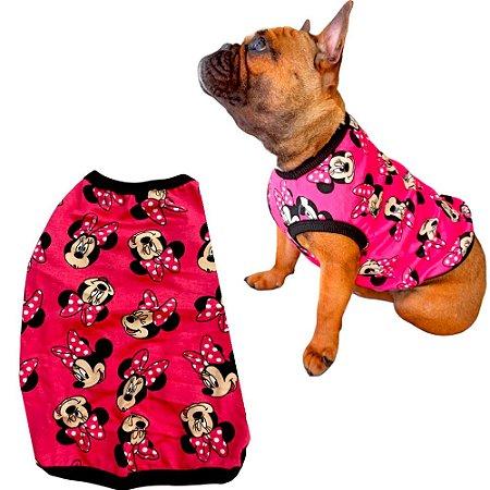 Camiseta Modelo Regata Sem Manga para Pet Cachorro Gato - Bulldog Spitz Poodle - Pequeno e Médio Porte