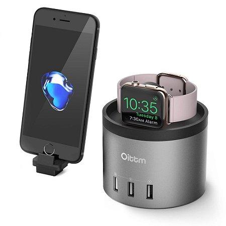 bec00a93774 Base Carregador Iphone E Apple Watch 3 Usb Original Oittm - Rossifast