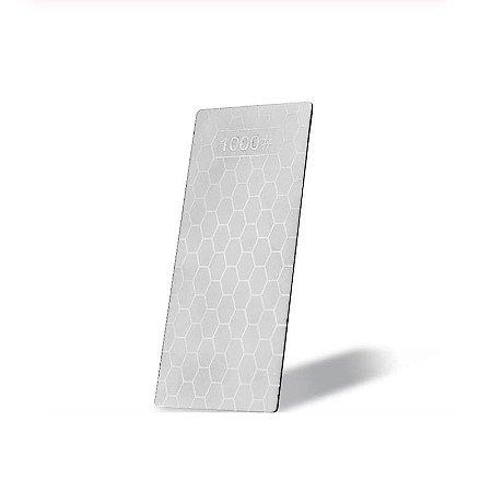 Pedra Amolador Afiador Faca Corte Diamante 1000 Ultra Fino