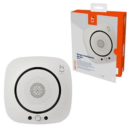 Sensor Detector Inteligente Sem Fio Gás Notificação Voz