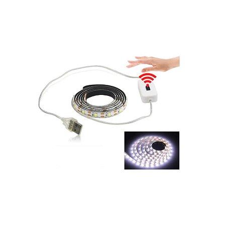 Fita Led Decoração USB Com Sensor Acendimento 3 Metros Braco