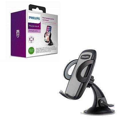 Suporte Veicular Celular Vidro Ventosa Botão Trava Abertura
