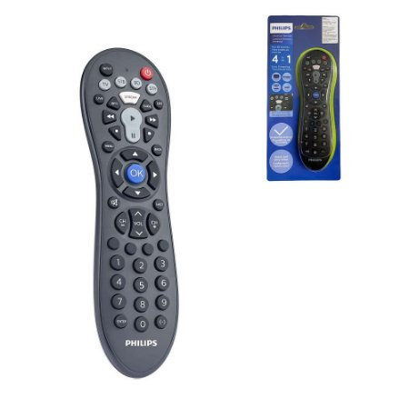 Controle Remoto Universal Philips 4x1 Televisão TV DVD Smart