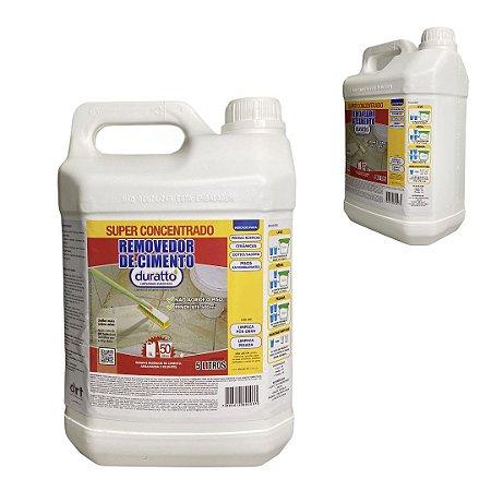 Removedor Cimento Concentrado Pós Obra Limpeza Pesada 5 lt