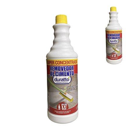 Removedor Cimento Super Concentrado Pós Obra Limpeza Pesada