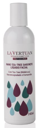 NANO TEA-TREE SABONETE LIQUIDO 240ML - LA VERTUAN