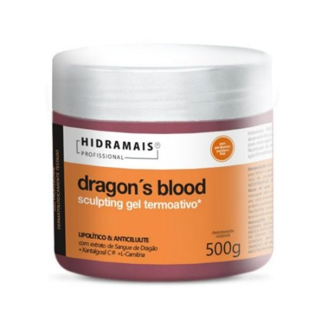 GEL TERMOATIVO DRAGONS BLOOD 500G - HIDRAMAIS