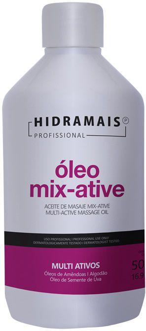 ÓLEO PARA MASSAGEM MIX-ATIVE 500ML - HIDRAMAIS