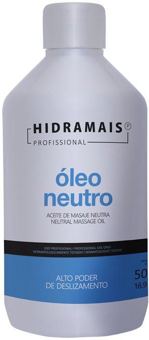 ÓLEO PARA MASSAGEM NEUTRO 500ML - HIDRAMAIS