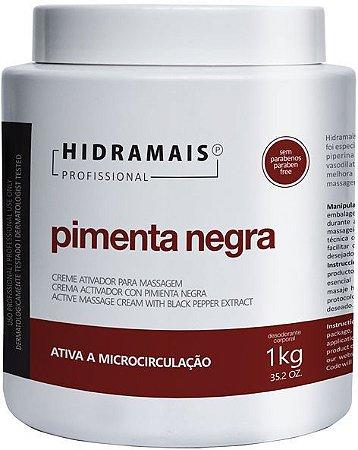 CREME PARA MASSAGEM PIMENTA NEGRA 1K - HIDRAMAIS