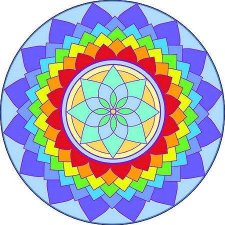 Adesivo Parede Mandala da Criatividade 15 cm