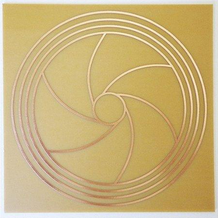 Placa Diafragma II M - Gráfico em Cobre
