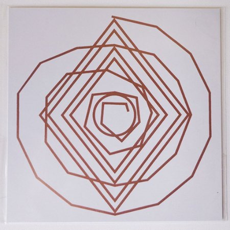 Placa Espiral Cósmico - Em PVC