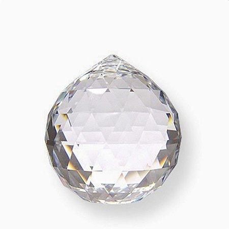 Cristal facetado Feng Shui Egípcio 30mm