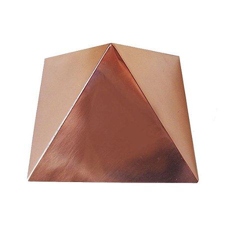 Pirâmide de Cobre Polida 10 cm