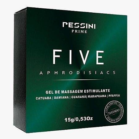 GEL EXITANTE FIVE APHRODISIACS PESSINI 15G